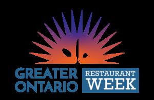 Greater Ontario Restaurant Week Logo